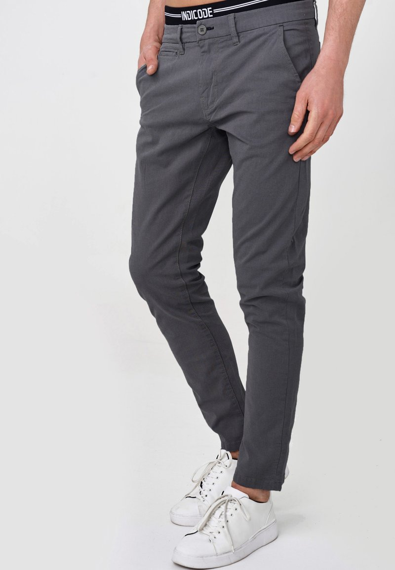 INDICODE JEANS - CREED - Chinos - black