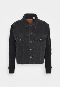 Levi's® - EX BF HYBRID TRUCKER - Giacca di jeans - dark spot - 4