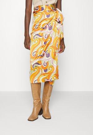 RETRO GROOVE JASPRE - Pencil skirt - multi