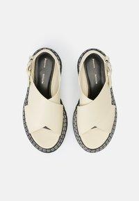 Proenza Schouler - LUG SOLE - Sandály na platformě - natural - 8