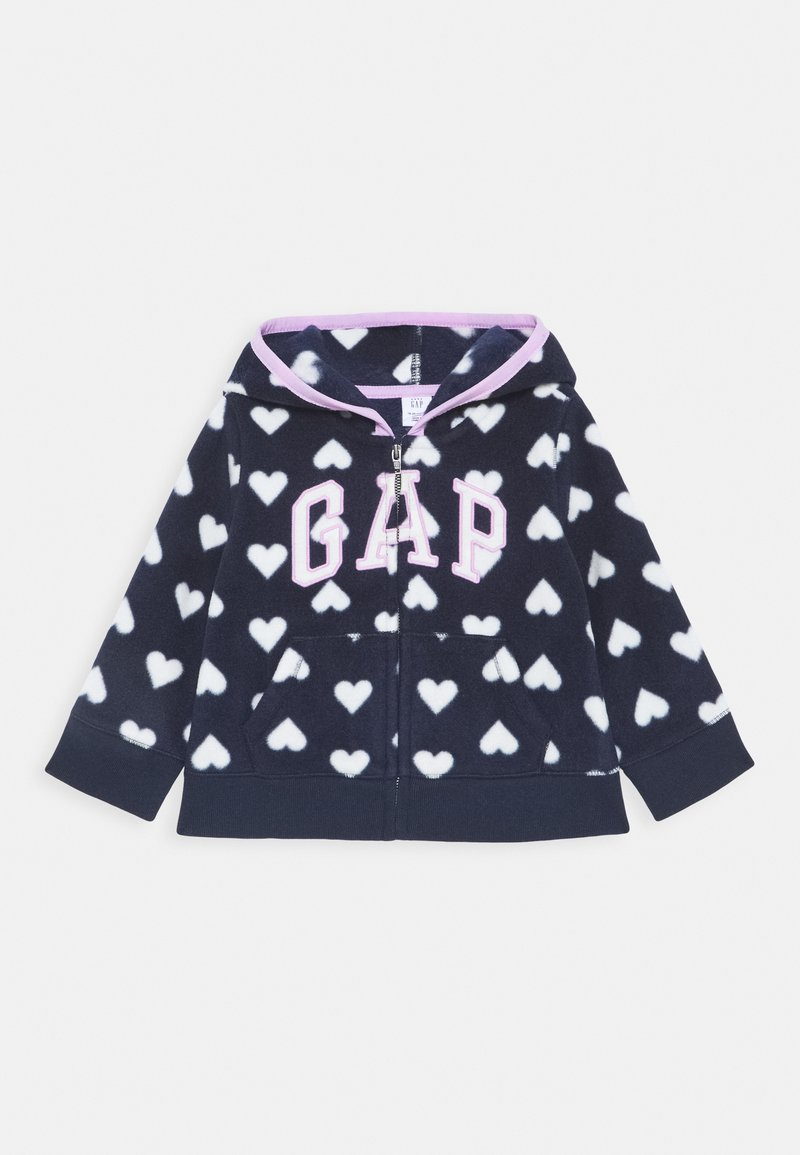 GAP - TODDLER GIRL LOGO - Forro polar - navy uniform