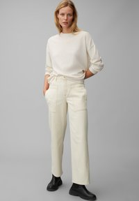 Marc O'Polo - Long sleeved top - chalk white - 1