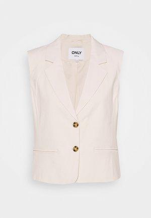 ONLAIA SHORT WAISTCOAT   - Waistcoat - whitecap gray