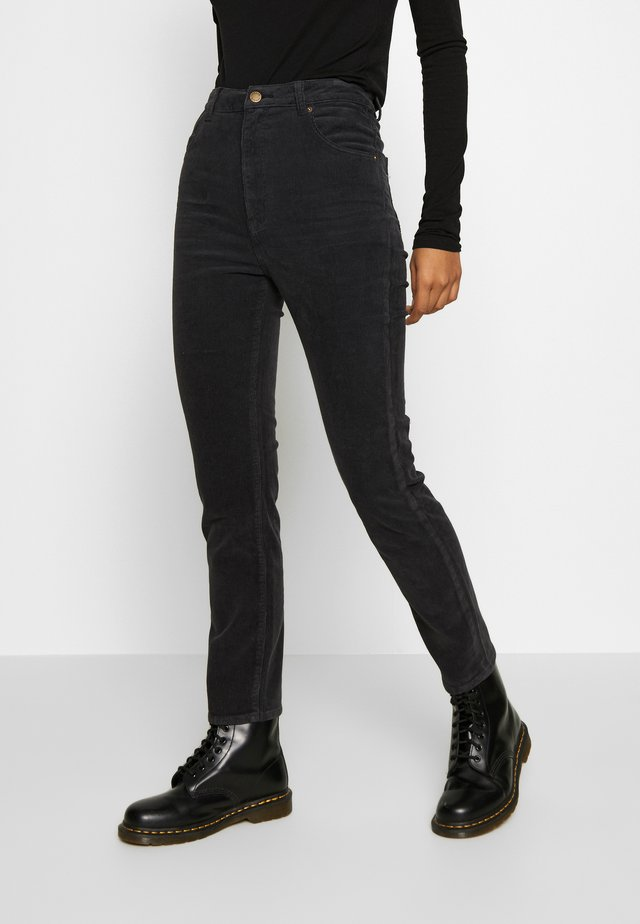 DUSTERS - Trousers - black