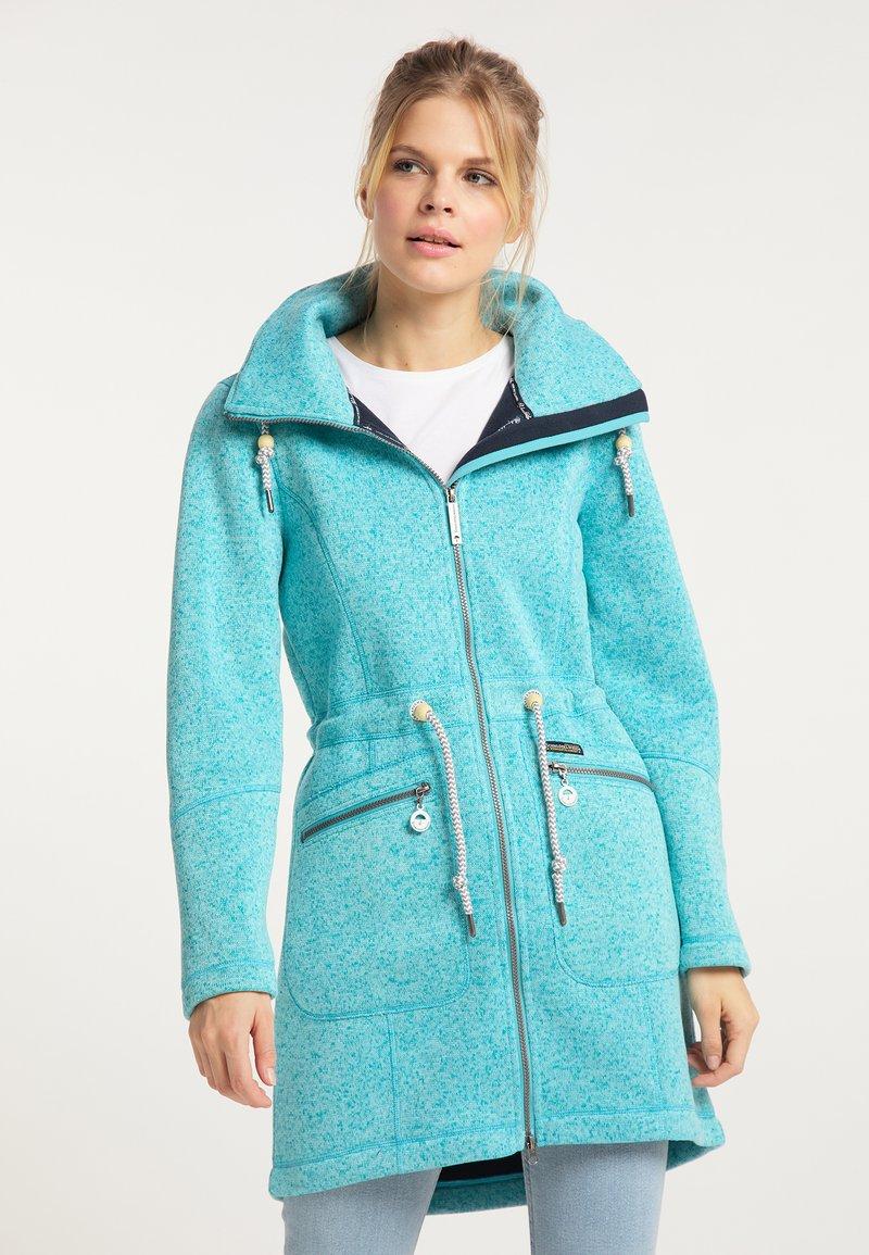 Schmuddelwedda - Short coat - türkis melange