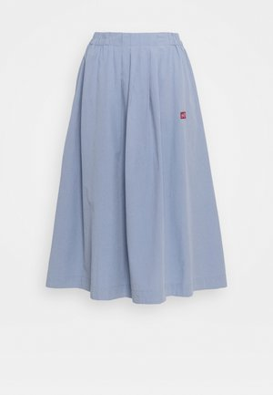 GAIL MIDI LOOSE SKIRT - A-line skirt - blue