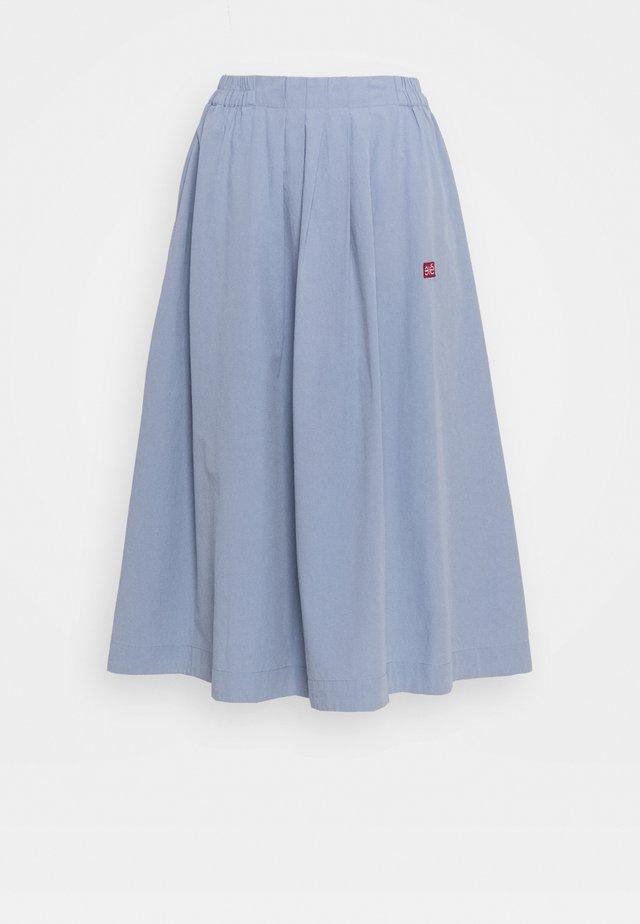 GAIL MIDI LOOSE SKIRT - Áčková sukně - blue