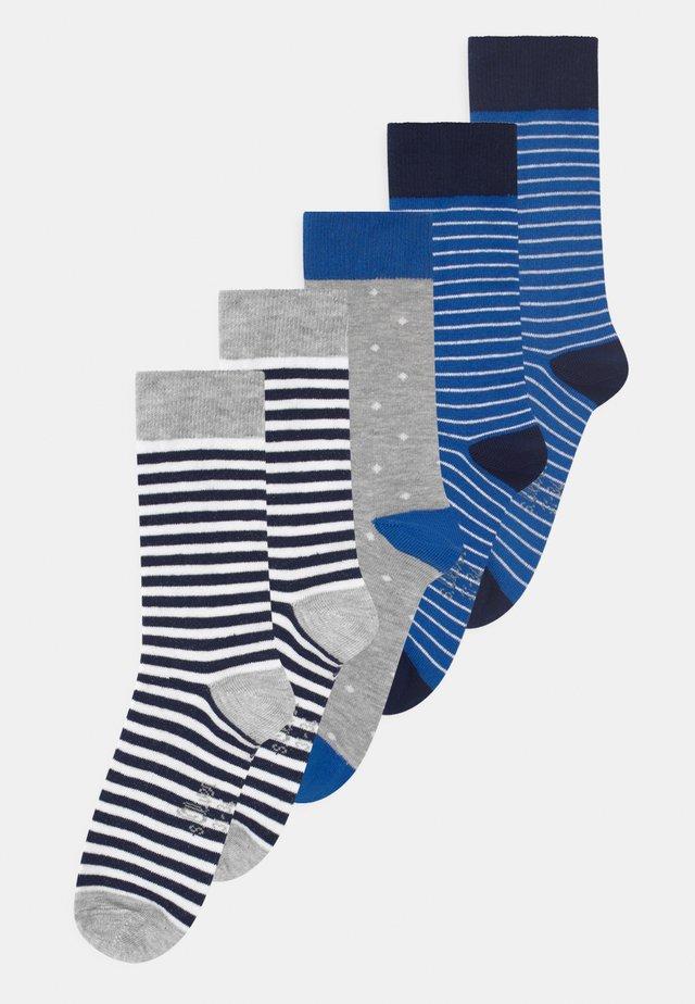 ONLINE JUNIOR PATTERNED 5 PACK - Sokken - olympian blue