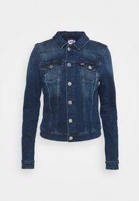 VIVIANNE SLIM TRUCKER - Denim jacket - denim