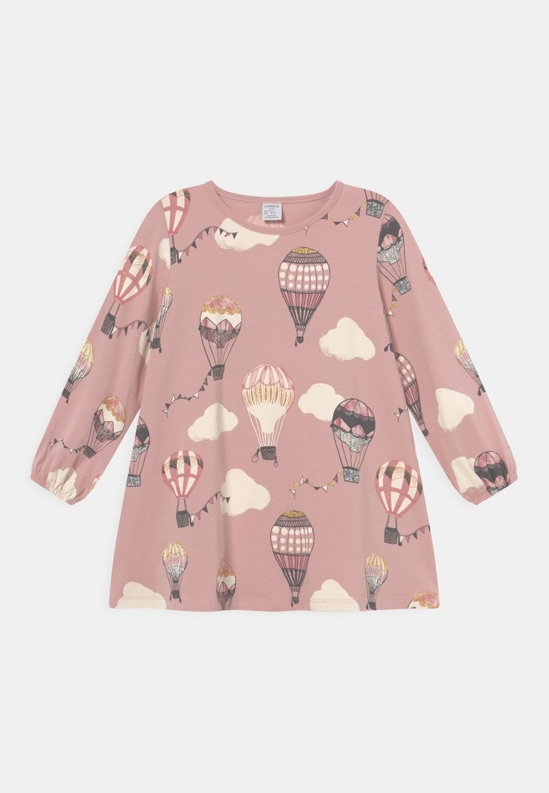 Lindex - MINI LONG - Long sleeved top - dusty pink