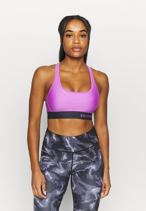 Medium support sports bra - exotic bloom