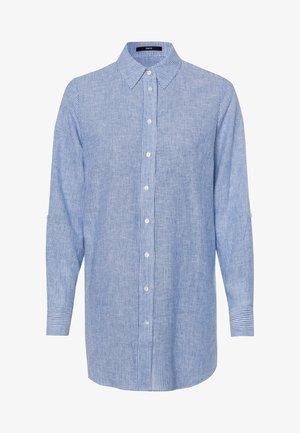 Button-down blouse - viola blue