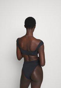 Seafolly - HIGH RISE PANT - Bikini bottoms - black - 2