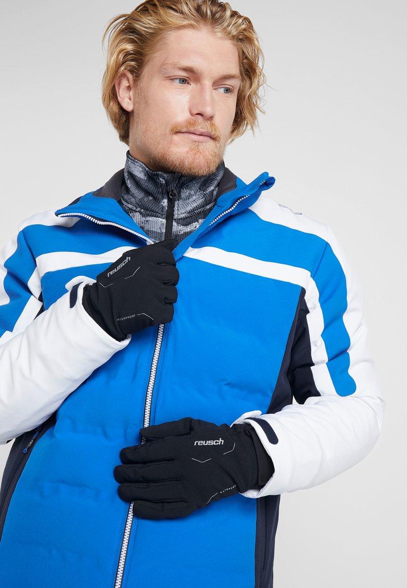 Reusch - REUSCH DIVER X R TEX® XT - Gloves - black/silver
