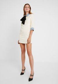 Sister Jane - TREAD TWEED MINI DRESS - Shirt dress - cream - 2
