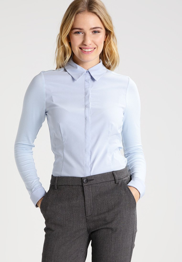 Expresso - XANI - Skjortebluser - light blue