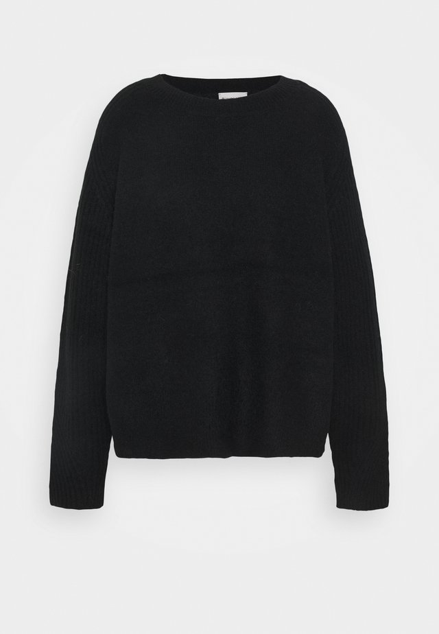 ANA - Strickpullover - black