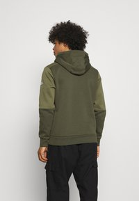 Nike Sportswear - AIR HOODIE - Sweat à capuche - medium olive/cargo khaki/white - 2