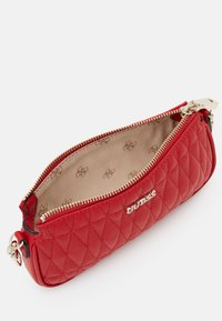 Guess - ARIE DOUBLE POUCH CROSSBODY - Across body bag - red - 3