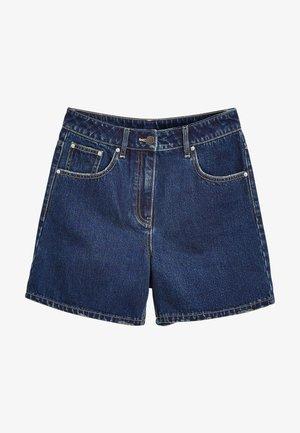 NON-STRETCH - Shorts vaqueros - dark blue