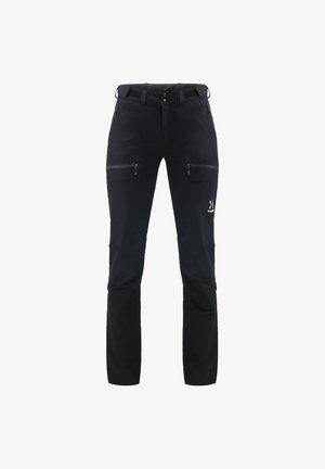 BRECCIA PANT - Ulkohousut - true black/magnetite short
