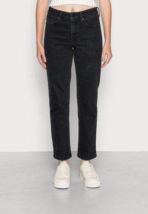 TONYA REGULAR WASH ORIGINAL - Straight leg jeans - black