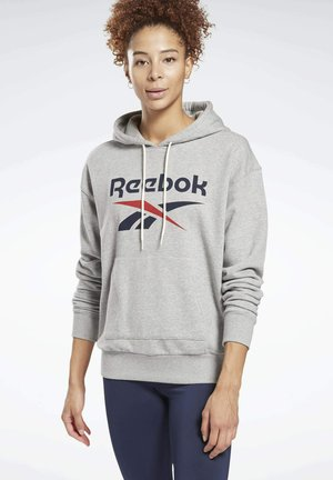 FRENCH TERRY ELEMENTS WORKOUT TRACK HOODIE - Kapuzenpullover - grey