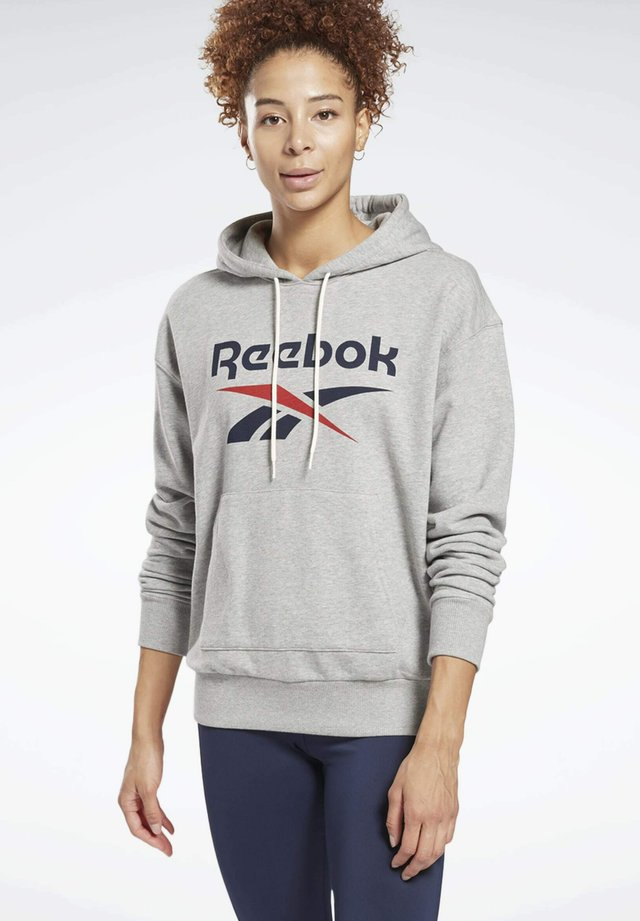 FRENCH TERRY ELEMENTS WORKOUT TRACK HOODIE - Hoodie - grey