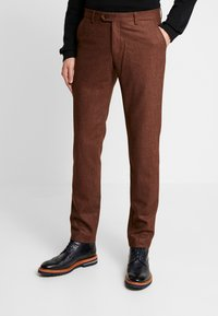 Bertoni - BLOCH TROUSER - Trousers - light brown - 0