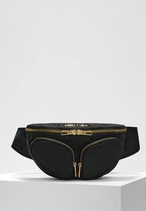 BIMBA Y LOLA S BLACK BUMBAG - Bum bag - black
