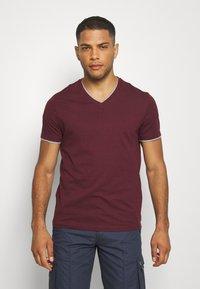 Pier One - T-shirt - bas - bordeaux - 0