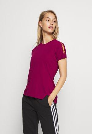 ALLA TEE - T-shirt imprimé - berry