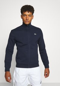 Lacoste Sport - CLASSIC JACKET - Mikina na zip - navy blue - 0
