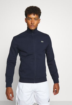 CLASSIC JACKET - Zip-up hoodie - navy blue