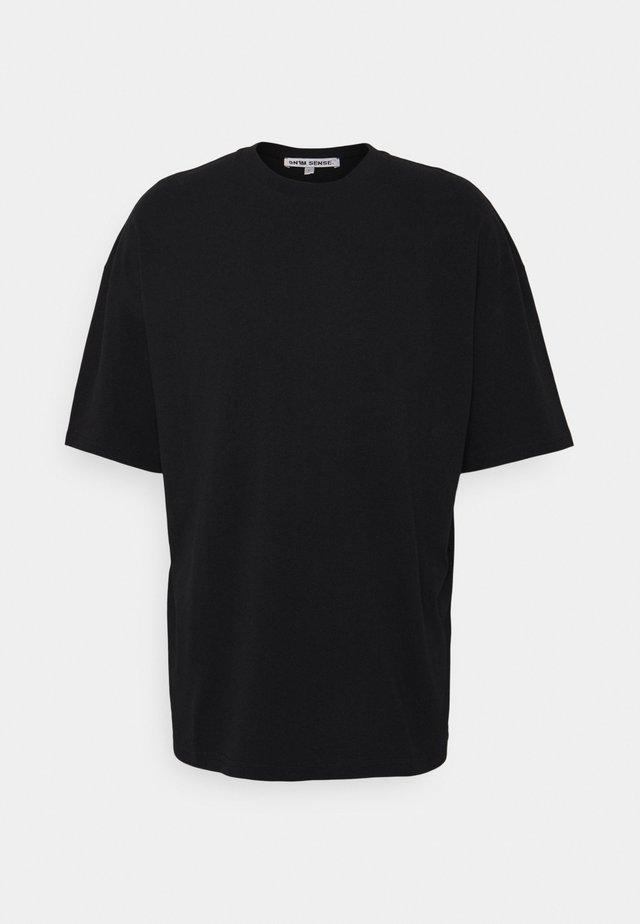 WAVES UNISEX - T-shirt print - black
