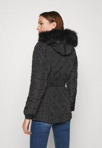 Dorothy Perkins - SHORT LUXE - Winter coat - black - 2