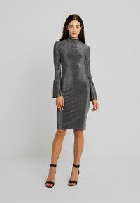 YAS - YASJENNIFER DRESS SHOW - Cocktailkleid/festliches Kleid - black/silver - 2