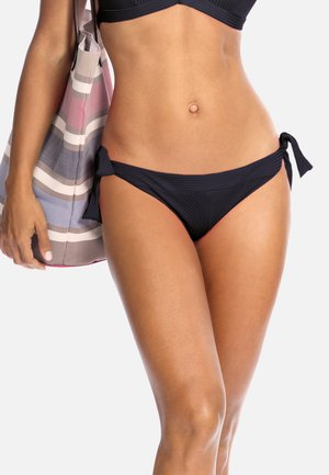 Dół od bikini - czarne w prążek
