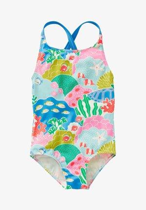 Swimsuit - bunt, korallenriff