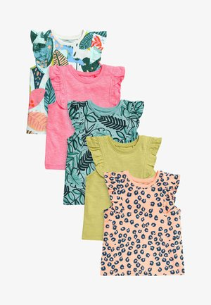 5 PACK  - T-shirt con stampa - green