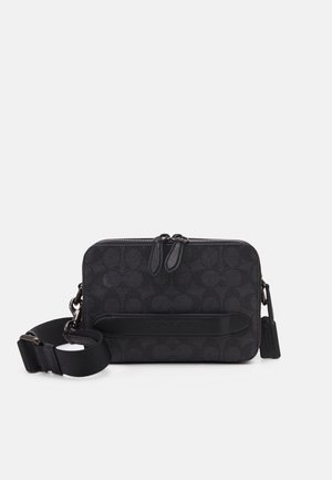 CHARTER CROSSBODY IN SIGNATURE - Across body bag - charcoal