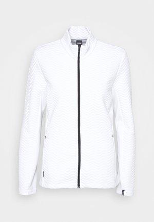 LADIES - Bluza rozpinana - white