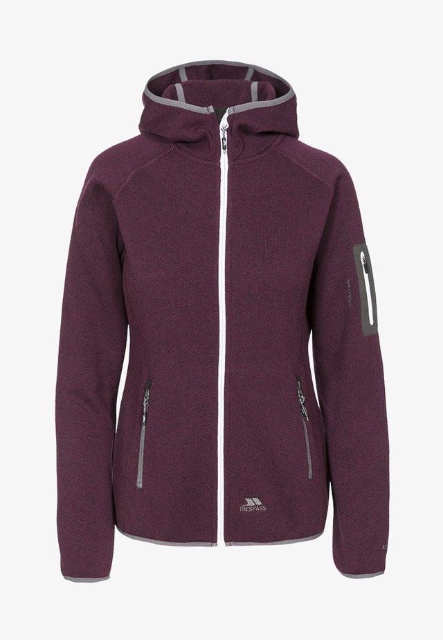 MONA LISA - Zip-up hoodie - purple