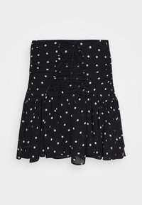 Guess - LUBIA - A-line skirt - black/white - 3