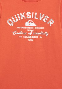 Quiksilver - SCREEN TEE - Long sleeved top - chili - 2