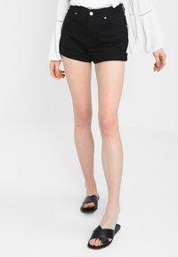 Dr.Denim - JENN  - Denim shorts - black - 0