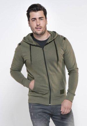 Zip-up sweatshirt - kambaba olive