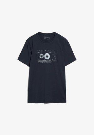JAAMES TAPE - T-shirt print - depth navy