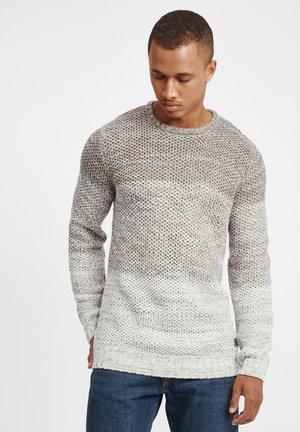 AYTON - Pullover - grey melange