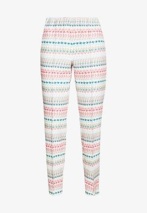 SLIM FIT - Trousers - multicolour